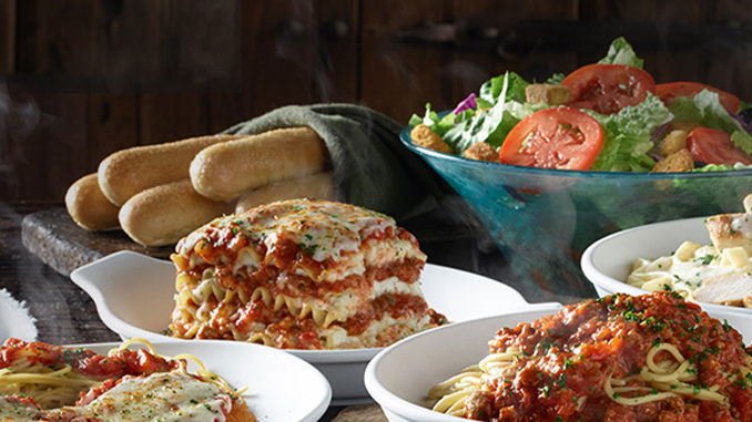 Olive Garden Never Ending Classics Archives Chew Boom