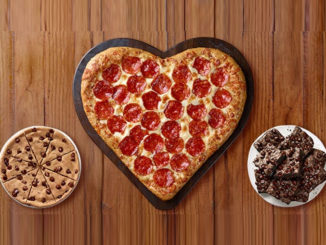 Pizza Hut Serves Up Heart-Shaped Pizza For 2018 Valentine's Day