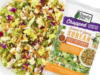 Ready Pac Tosses New Sweet And Spicy Korean Chopped Salad Kit With Gochujang Vinaigrette