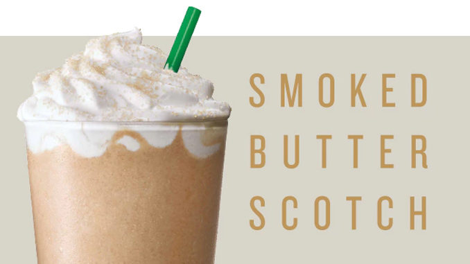 Starbucks Brings Back The Smoked Butterscotch Frappuccino