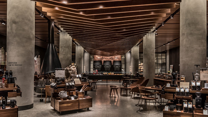 Starbucks Opens First Reserve Store In Seattle