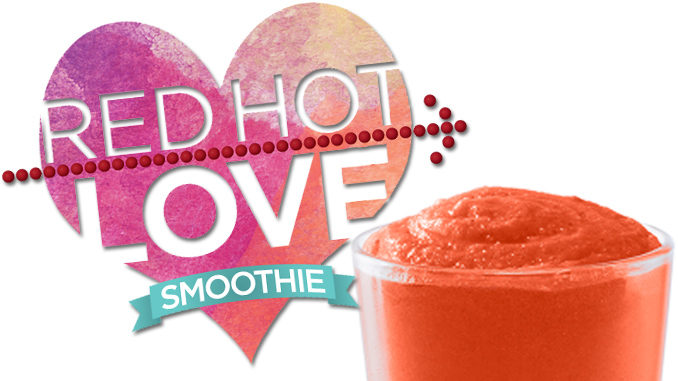 Tropical Smoothie Cafe Unveils Red Hot Love Smoothie For Valentine's Day