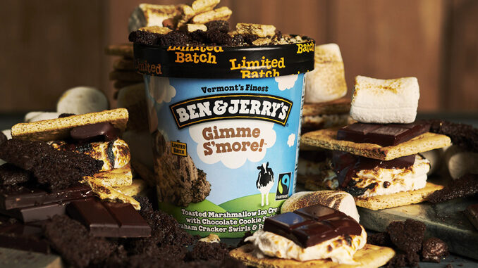 Ben & Jerry's Introduces New Gimme S'more Flavor