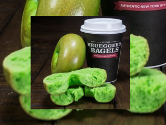 Bruegger's Celebrates St. Patrick's Day With The Return Of Green Bagels