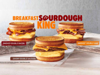 Burger King Introduces New Breakfast Sourdough King Sandwiches