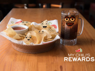 Chili's New Loyalty Program Features Free Chips & Salsa Or Drink With Every Visit