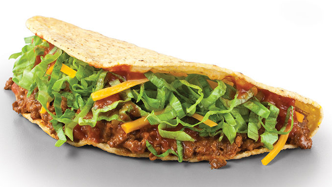 Free Crispy Beef Tacos At Taco John's On March 21, 2018