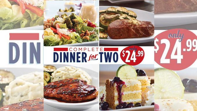 Ruby Tuesday Offers Complete Dinner For 2 For $24.99