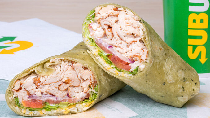 Subway Introduces New Signature Wrap Lineup