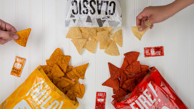 Taco Bell Tortilla Chips Coming To A Retailer Near You In May 2018