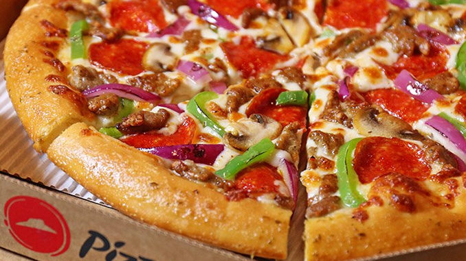 50% Off All Menu-Priced Pizzas Ordered Online At Pizza Hut Through April 22, 2018