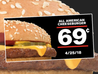 69-Cent All American Cheeseburgers At Checkers & Rally's‏ On April 25, 2018