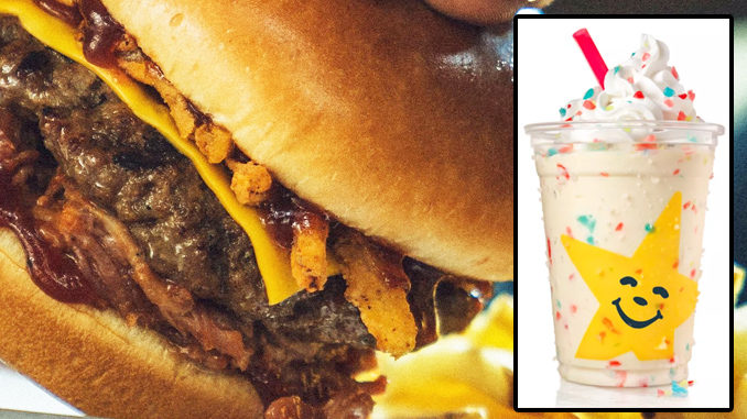 Carl's Jr. And Hardee's Launch New Jolly Rancher Milkshake, Brings Back The Memphis BBQ Thickburger