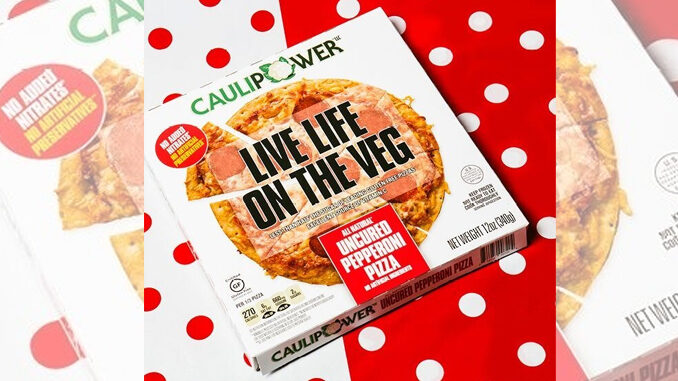 Caulipower Adds New Uncured Pepperoni Pizza On Cauliflower Crust