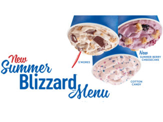 Dairy Queen Launches New Summer Blizzard Menu For 2018