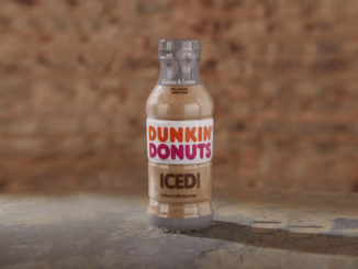 Dunkin' Donuts Bottles New New Cookies & Cream Iced Coffee