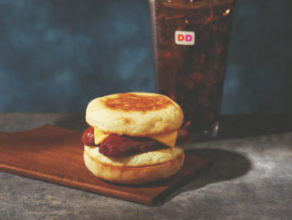 Dunkin' Donuts Brings Back The Smoked Sausage Breakfast Sandwich