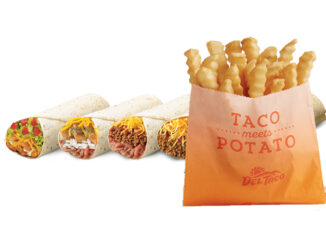 Free Fries At Del Taco With 2 For $5 Burritos Purchase On April 5, 2018