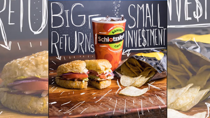 Free Original Sandwich At Schlotzsky's On April 17, 2018 With Chips And Drink Purchase
