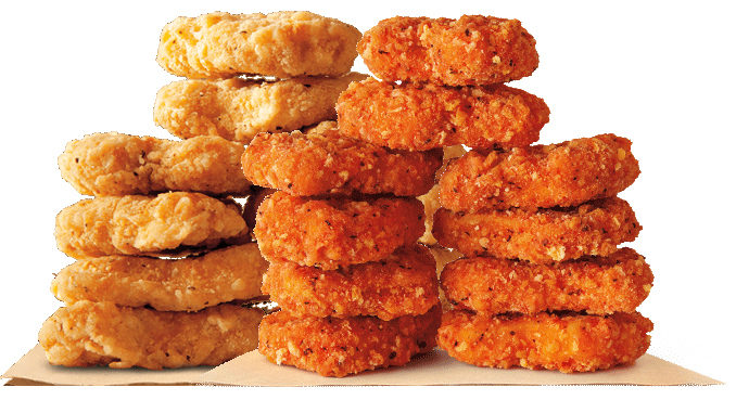 Get 10 Spicy Or Original Chicken Nuggets For 169 At Burger King