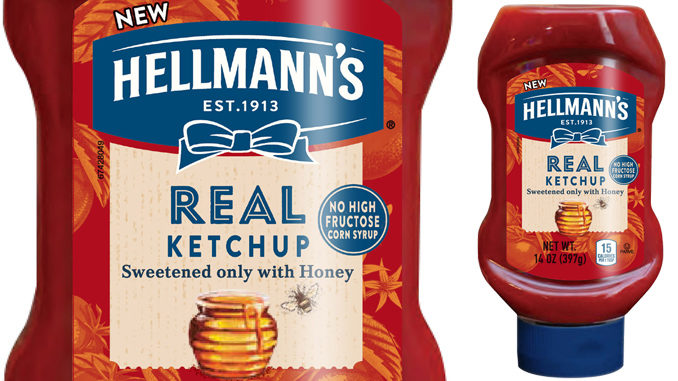 Hellmann's Unveils New Real Ketchup Sweetened With Honey