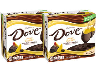 Mars Wrigley Adds New Dove Mango Sorbet With Dark Chocolate Bars