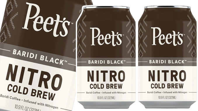 Peet's Introduces New Canned Nitro Cold Brew