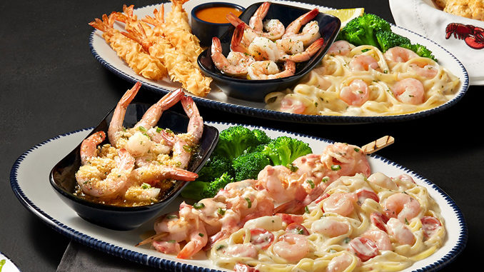 Red Lobster Launches Create Your Own Shrimp Trios Event
