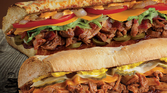 Buy One, Get One Free BBQ Pulled Pork Sandwiches At Quiznos On May 16, 2018