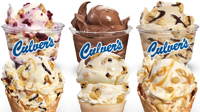Culver's Unveils 6 New Frozen Custard Flavors Of The Day