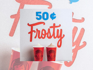 Get A Small Frosty For 50-Cents At Wendy's