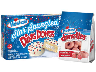 Hostess Gets Patriotic With Star Spangled Ding Dongs And Strawberry Donettes