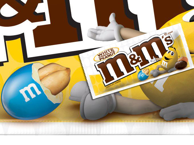 New M M S White Chocolate Peanut Flavor Set To Hit Retailers This Fall Chew Boom