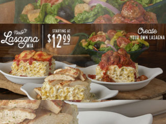 Olive Garden Launches First Ever Create Your Own Lasagna Promotion