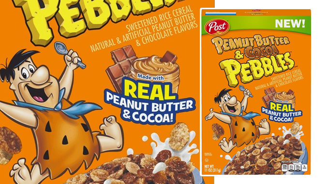 Post Introduces New Peanut Butter & Cocoa Pebbles Cereal