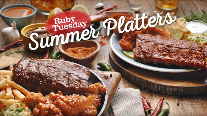 Ruby Tuesday Introduces New $13.99 Summer Platters