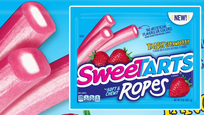SweeTarts Tangy Strawberry Soft & Chewy Ropes Now Available Nationwide
