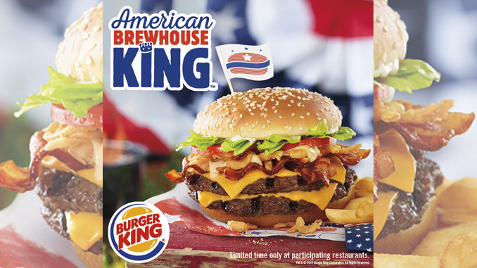 Burger King Unveils New American Brewhouse King Sandwich
