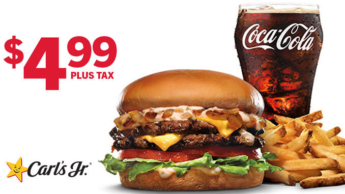carl s jr offers 4 99 california classic combo deal chew boom