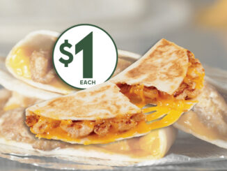 Del Taco Introduces New $1 Chicken Quesadilla Snacker