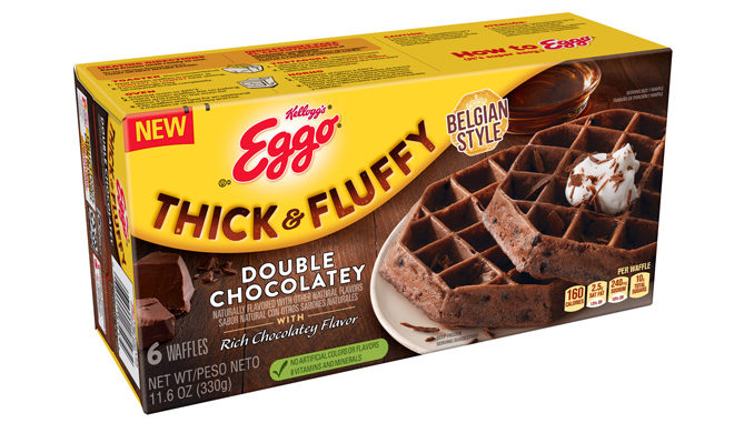 Eggo Introduces New Thick & Fluffy Double Chocolatey Belgium-Style Waffles