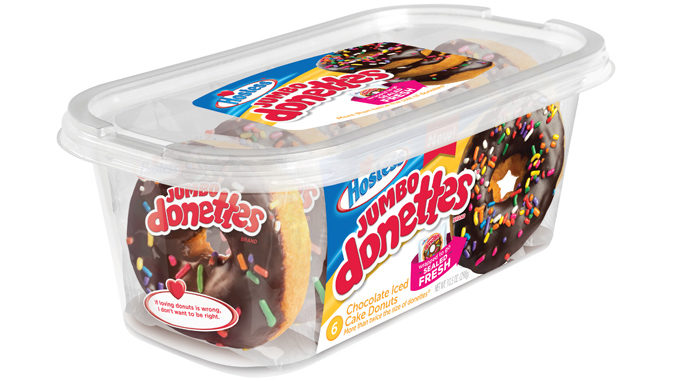 Hostess Bakes Up New Jumbo Donettes