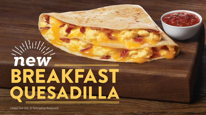 New Breakfast Quesadilla Coming Soon To Jack In The Box