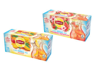 Lipton Introduces New Fruit-Infused Iced Herbal Teas