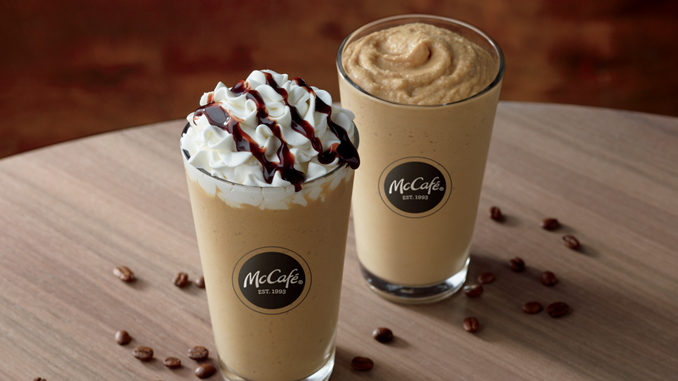 McDonald's Debuts New Cold Brew Frozen Coffee
