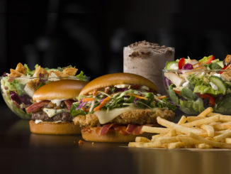 McDonald's Launches New Global Menu Items At Headquarters Restaurant