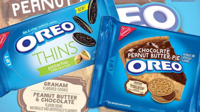 Nabisco Releases New Chocolate Peanut Butter Pie Oreos And Pistachio Oreo Thins