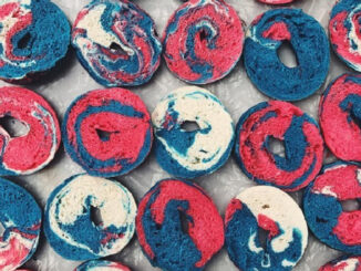Red, White And Blue Bagels Return To Bruegger's On July 3 And July 4, 2018