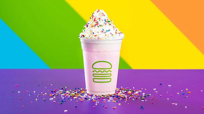 Shake Shack Spins New Pride Shake Through June 2018