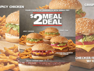 The $2 Meal Deal Is Back At Checkers And Rally's
